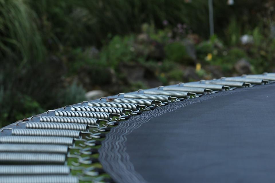 Pružiny trampolíny