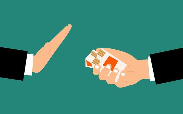 odmítnutí cigaret